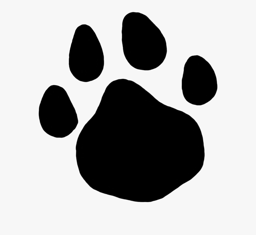 Cat Paw Print - Cat Paw Print Transparent Background, Transparent Clipart