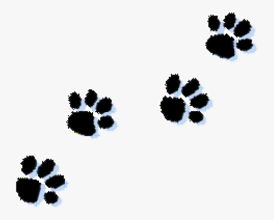 Paw Prints Clipart Cat Paw Print Clipart Kid Clipartix - Paw Prints Transparent Background, Transparent Clipart