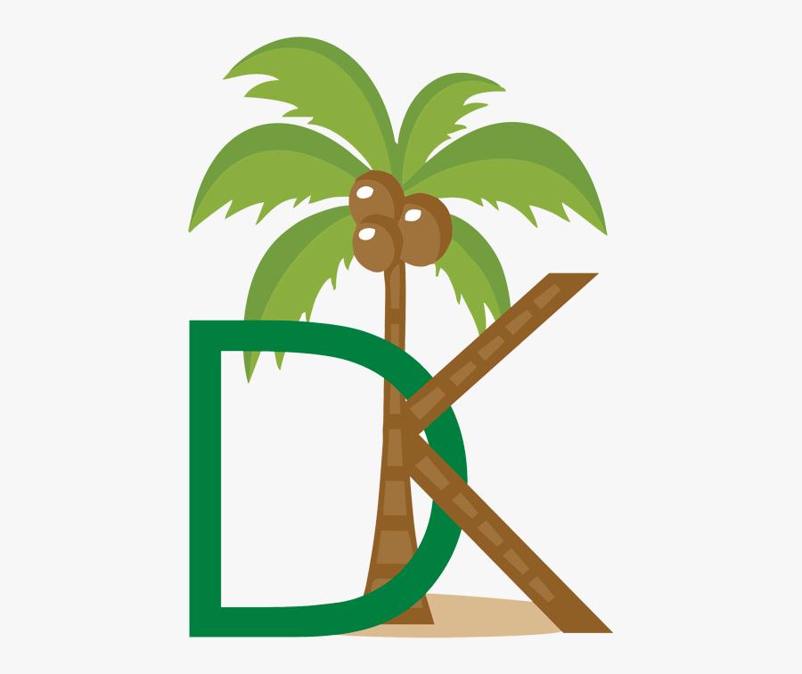 Transparent Palm Trees Png Transparent - Transparent Coconut Tree Clipart, Transparent Clipart
