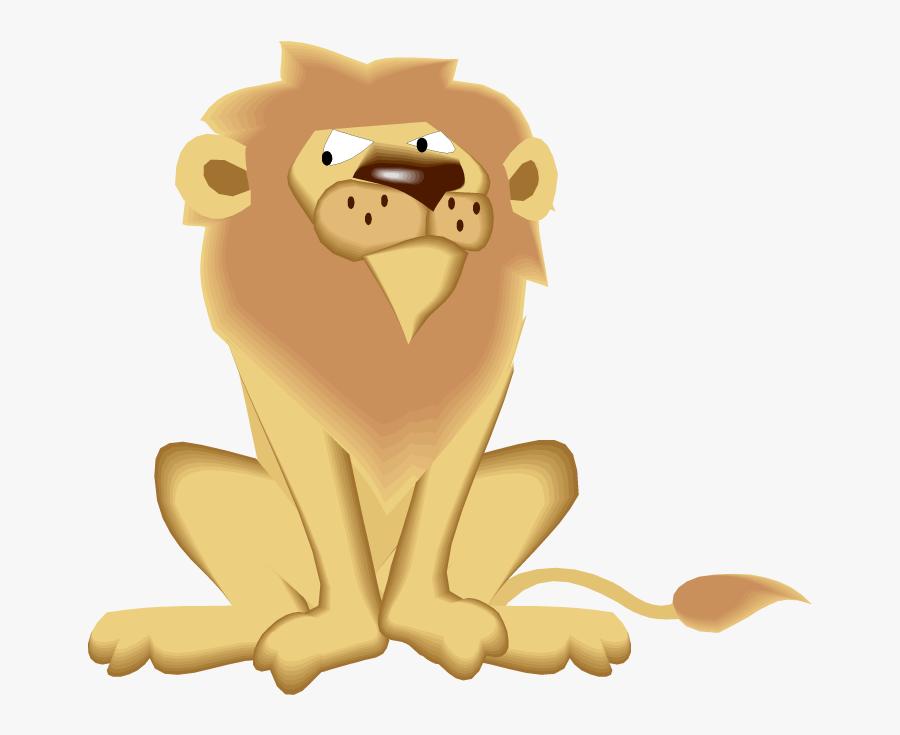Dear Zoo Animals Lion, Transparent Clipart