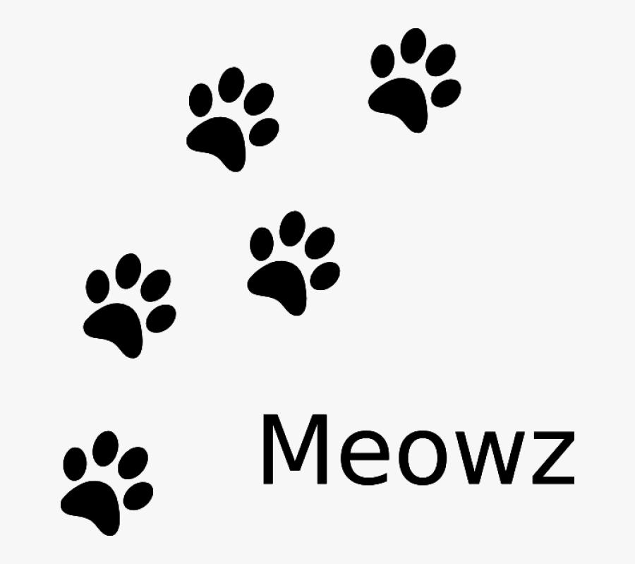 Printable Cat Paw Print, Transparent Clipart