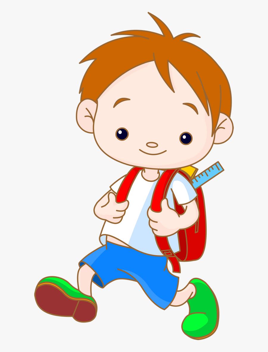 School Children 133 - Playway School Cartoon Png, Transparent Clipart