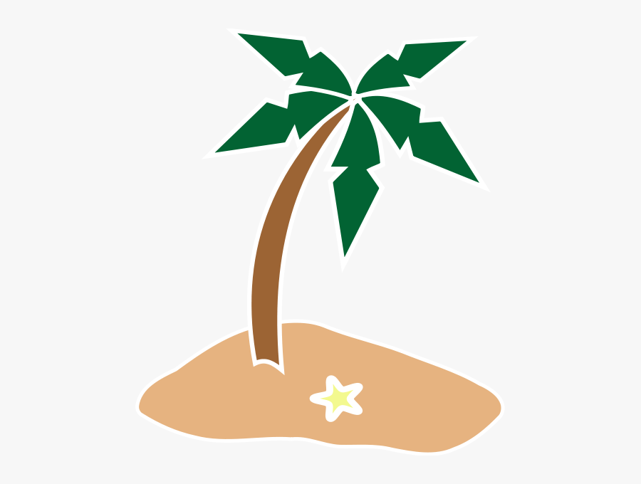 Island With Transparent Background, Transparent Clipart