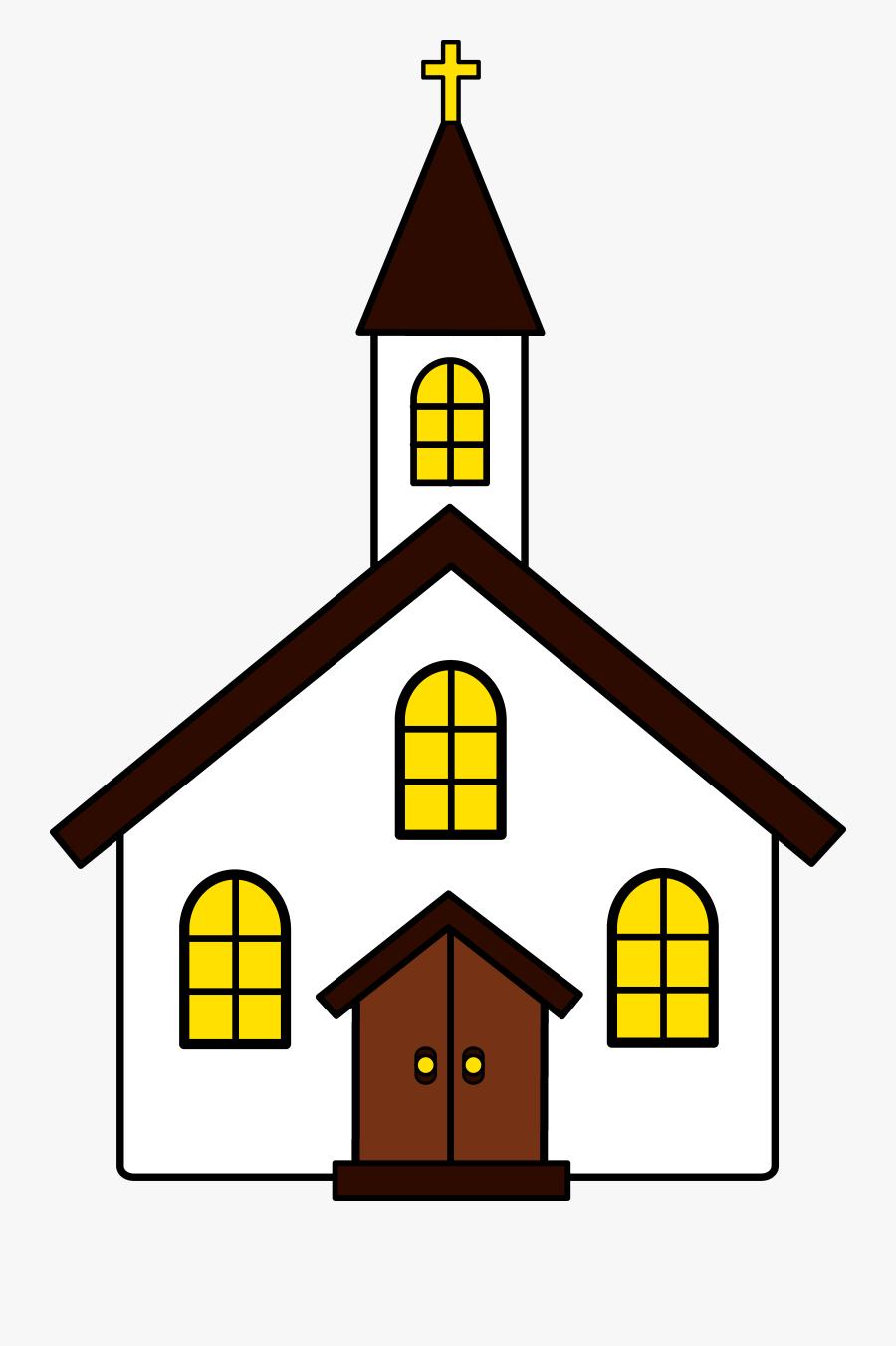 Black Church Clip Art Free Clipart Images - Church Clipart, Transparent Clipart