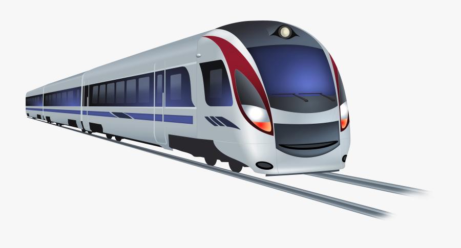 Modern Train Png Clip Art - Train Png, Transparent Clipart