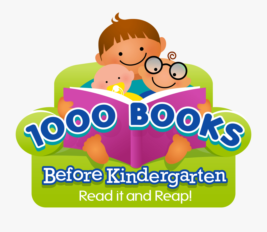 1000 Books Before Kindergarten , Transparent Cartoons - 1000 Books Before Kindergarten, Transparent Clipart