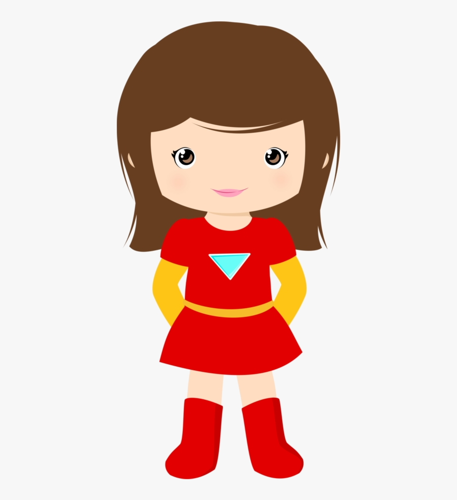 Superhero Graphic Library Girl Clipart Girls Kids Transparent - Spider Girl Superhero Clipart, Transparent Clipart