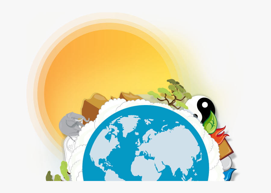 Planet Earth Clipart Discovery World - World Map, Transparent Clipart