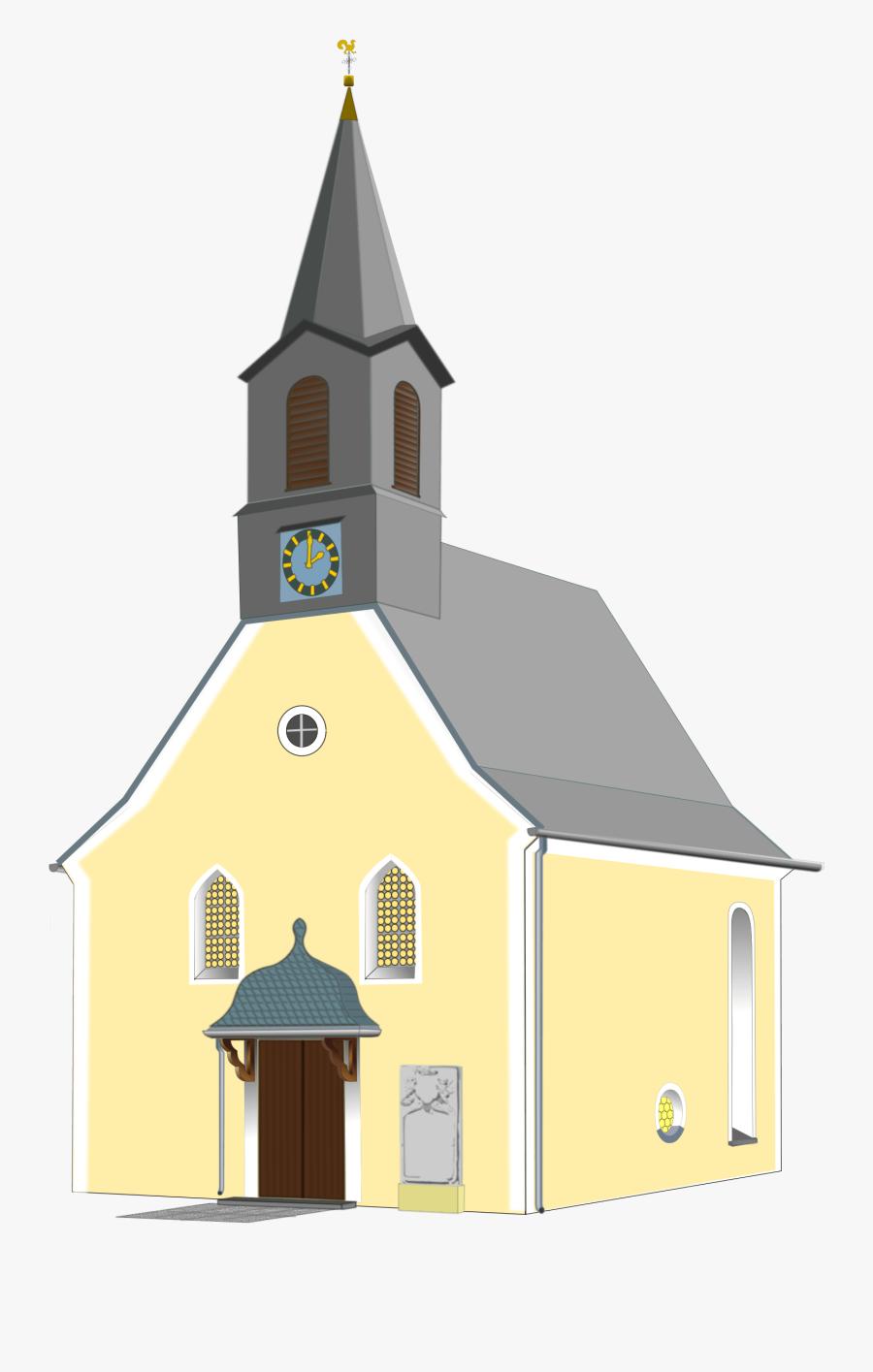 Clip Art Portable Network Graphics Christian Church - Transparent Background Church Transparent, Transparent Clipart