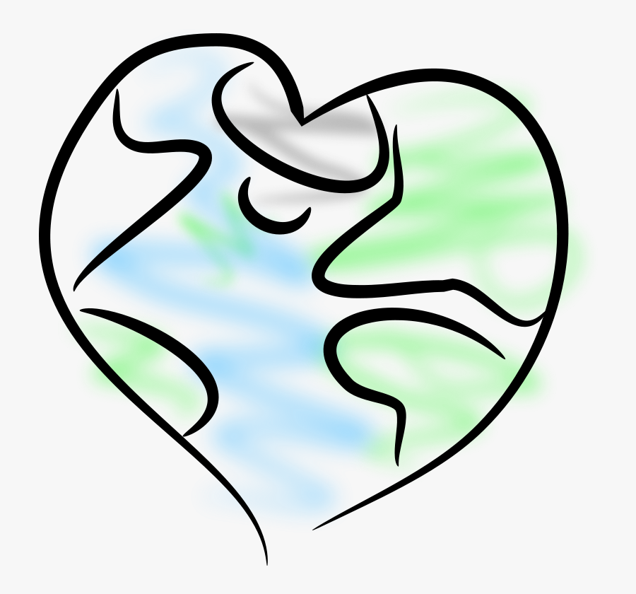 Png Earth Heart Clipart, Transparent Clipart