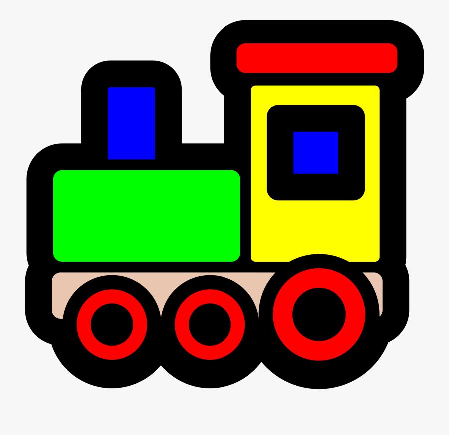 Choo Choo Train Clipart Free Clipart Images Clipartcow - Clip Art Toy Train, Transparent Clipart