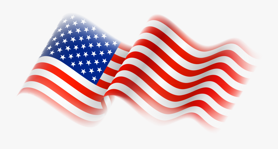 Free American Flag Clipart - Transparent Background American Flag Png, Transparent Clipart