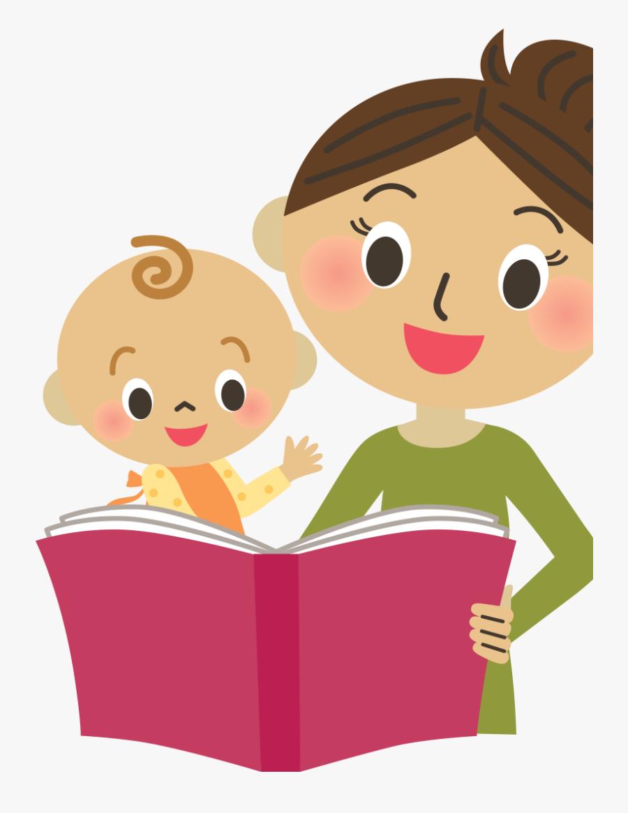 Transparent Children Reading Clipart - Clipart Emergent Literacy, Transparent Clipart