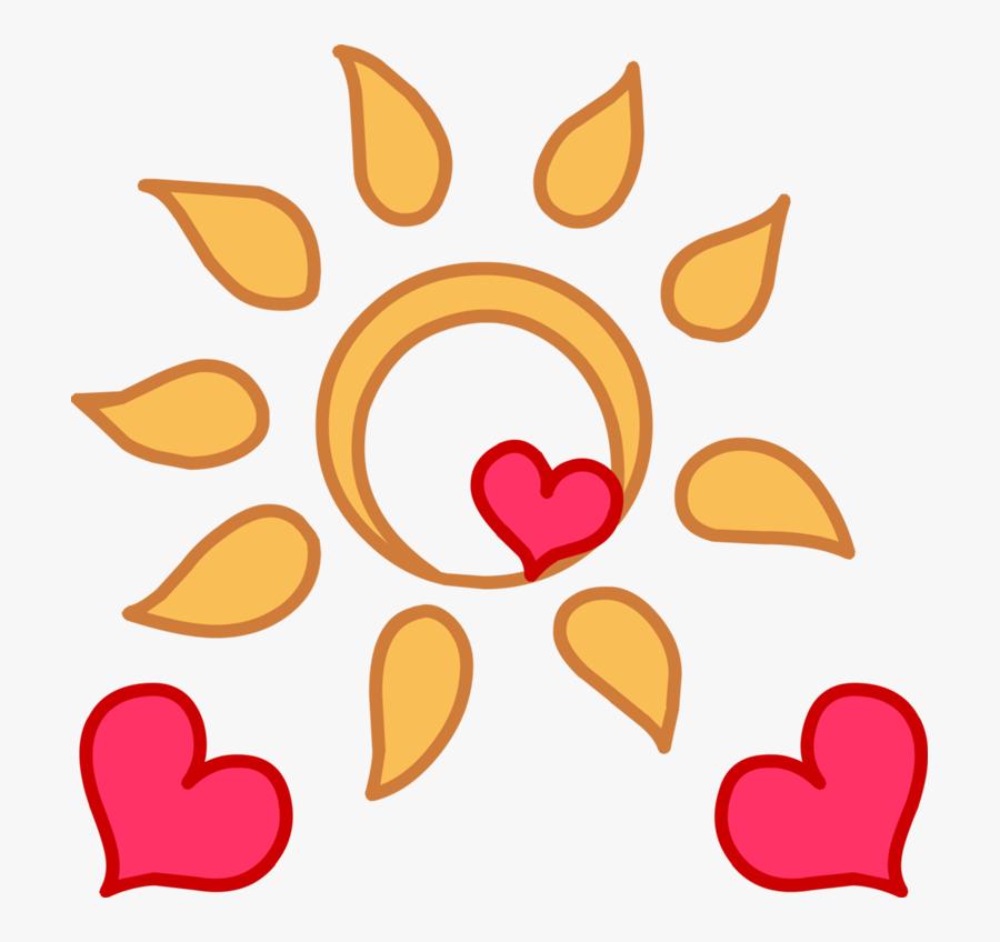 Image Happystudio Sunshine Png - Mlp Best Cutie Marks, Transparent Clipart