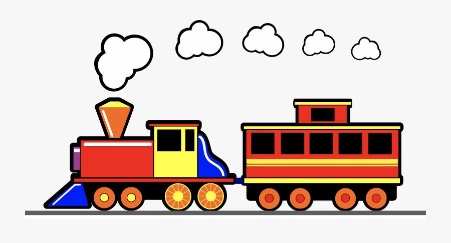 Transparent Train Png - Toy Train Clip Art, Transparent Clipart