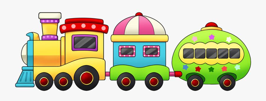 Train - Clipart - Cartoon Train Clipart Png, Transparent Clipart