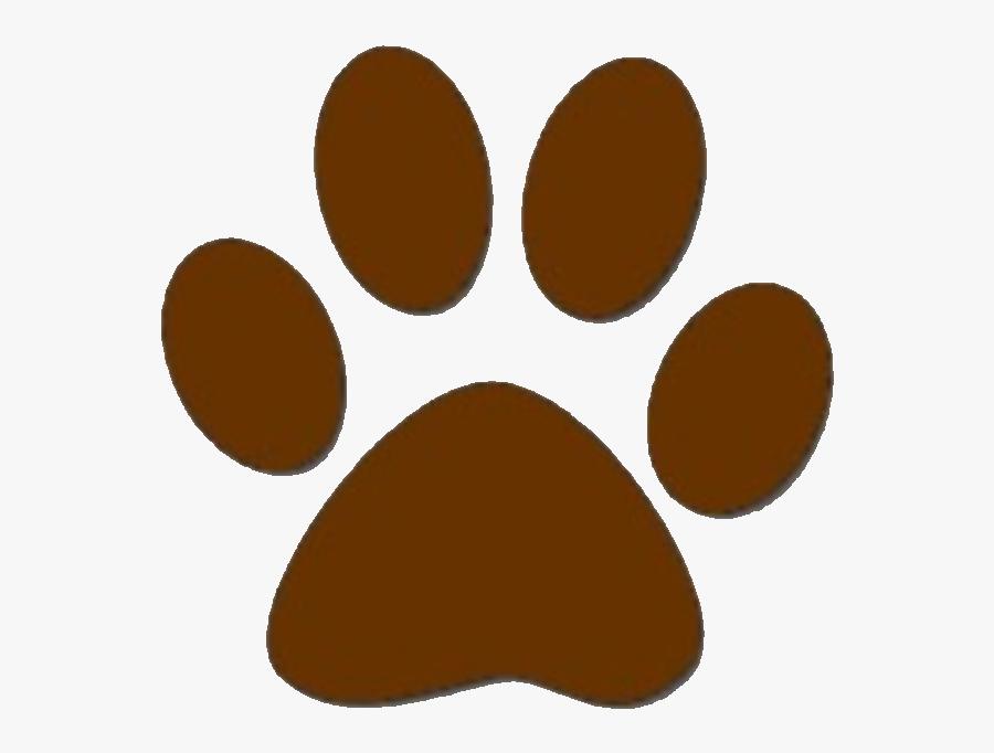 Dog Paw Prints Brown Dog Paw Print Clipart Free To - Dog Paw Print Brown, Transparent Clipart