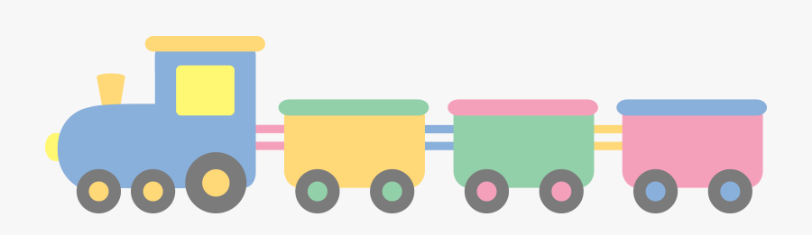 Baby Train Free Download - Baby Toys Train Clipart, Transparent Clipart