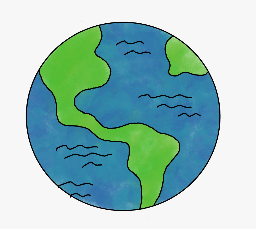 Earth Clipart Space - Earth Clipart, Transparent Clipart