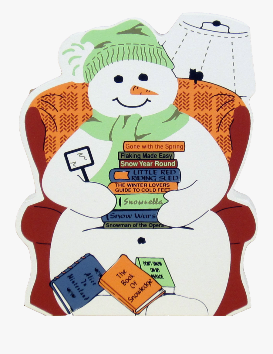 Clipart Free Stock Collection Of Snowman - Snowman Read Png, Transparent Clipart