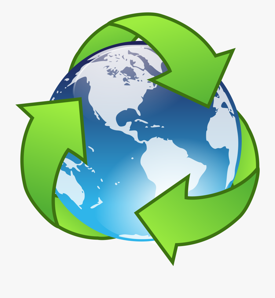 Clipart - Saving The Earth Clipart, Transparent Clipart