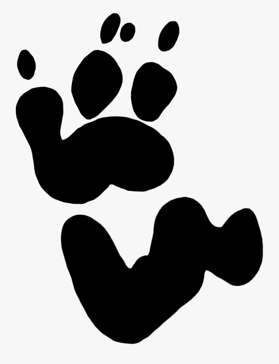 Koala Paw Prints Clipart - Koala Bear Koala Paw Print, Transparent Clipart
