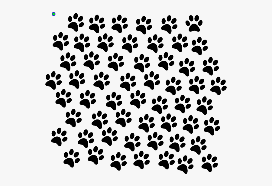 Paw Print Background Png, Transparent Clipart
