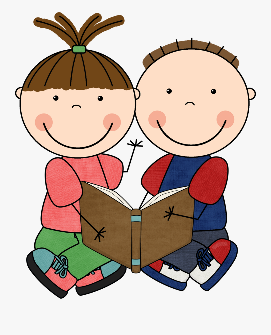 Read To Self Clipart Panda Free Clipart Images - Partner Reading Clipart, Transparent Clipart