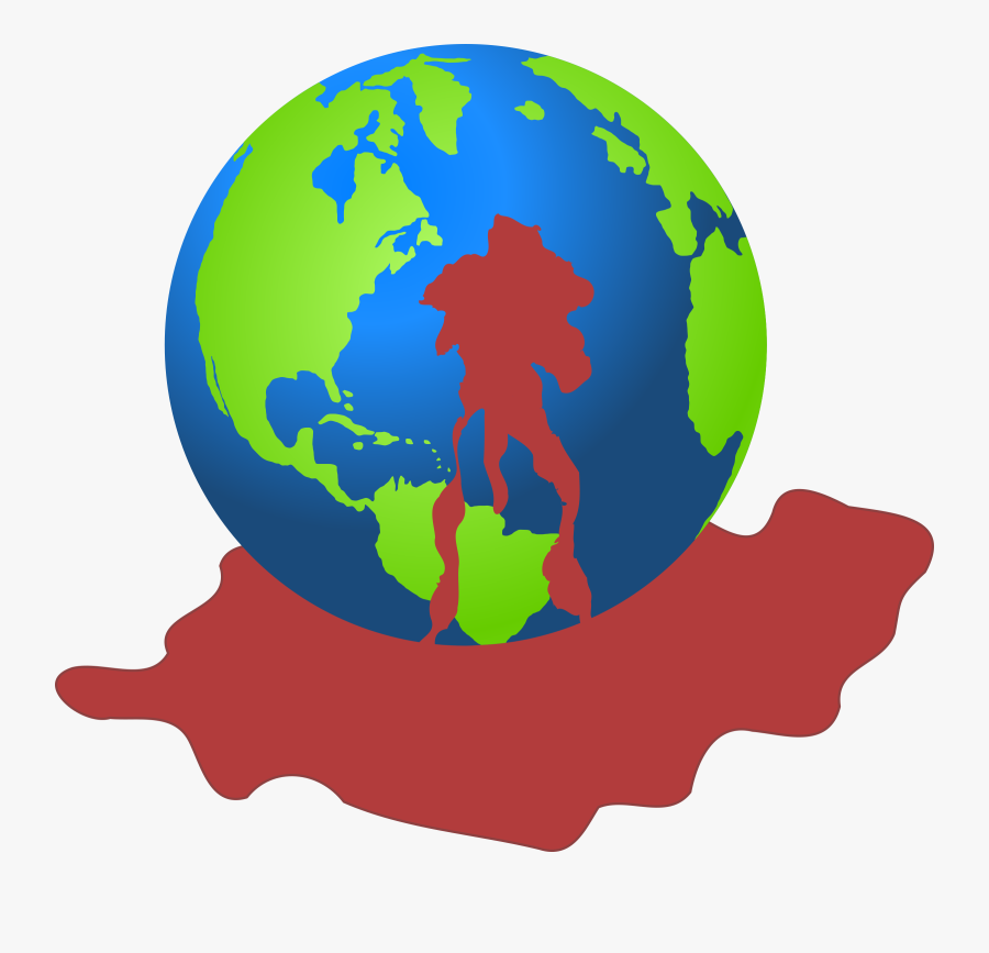 Earth Drawing Computer Icons Planet - Transparent Background World Png, Transparent Clipart