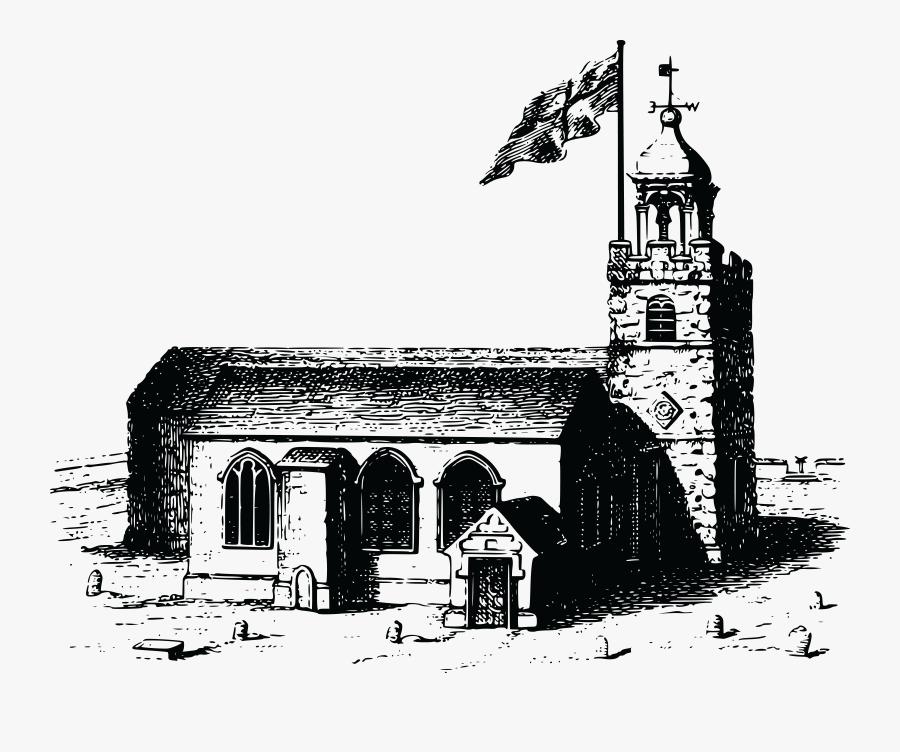 Free Clipart Of A Church - Christian Church, Transparent Clipart