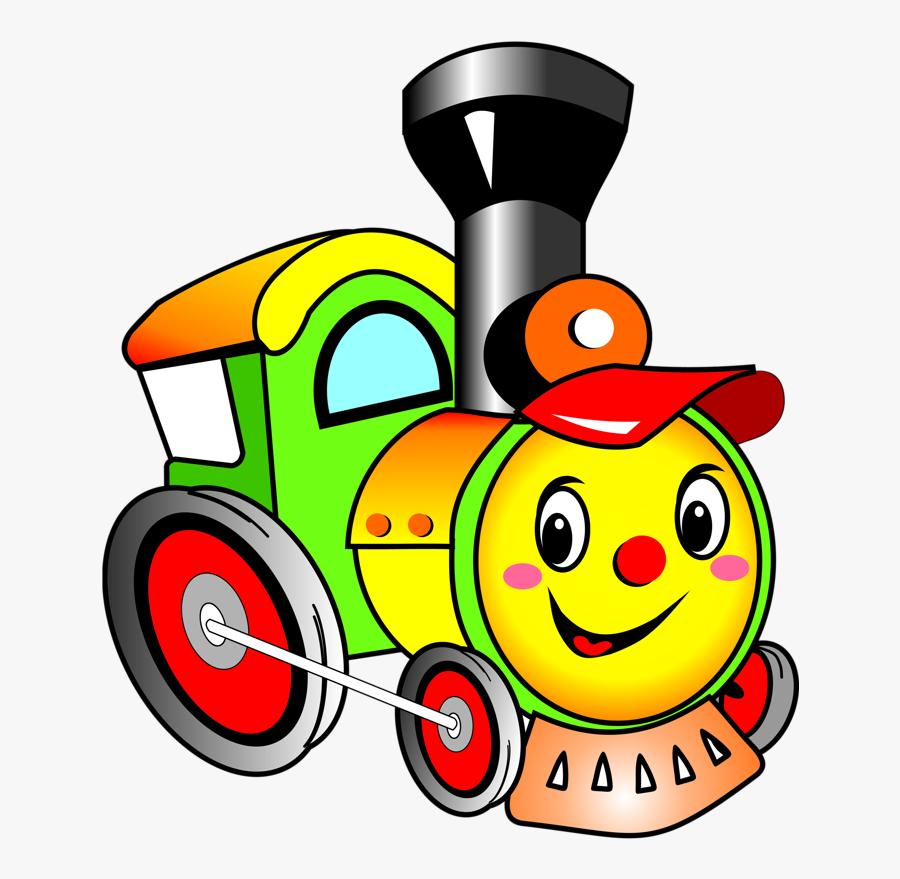 Train Clipart For Kids - Train Cartoon Clipart, Transparent Clipart