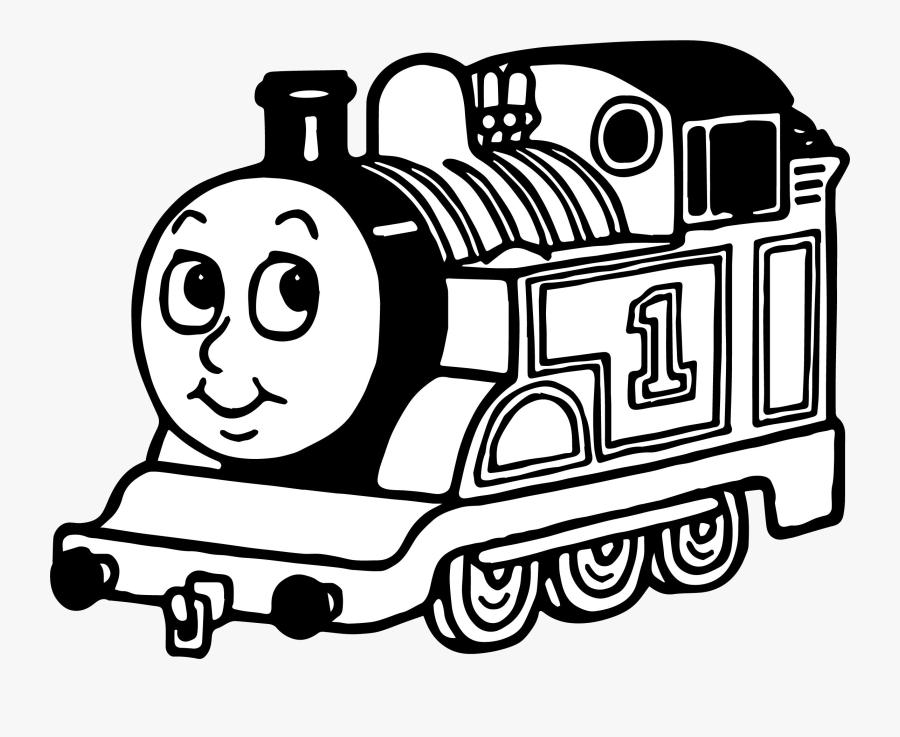 Thomas The Train Clipart Black And White Picture Transparent - Whiskey Train, Transparent Clipart