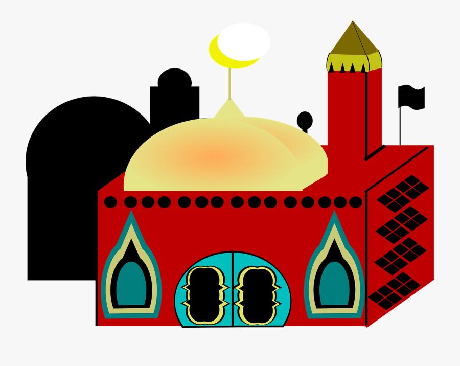 Transparent Church Clipart Png - Islam Church Clip Art, Transparent Clipart