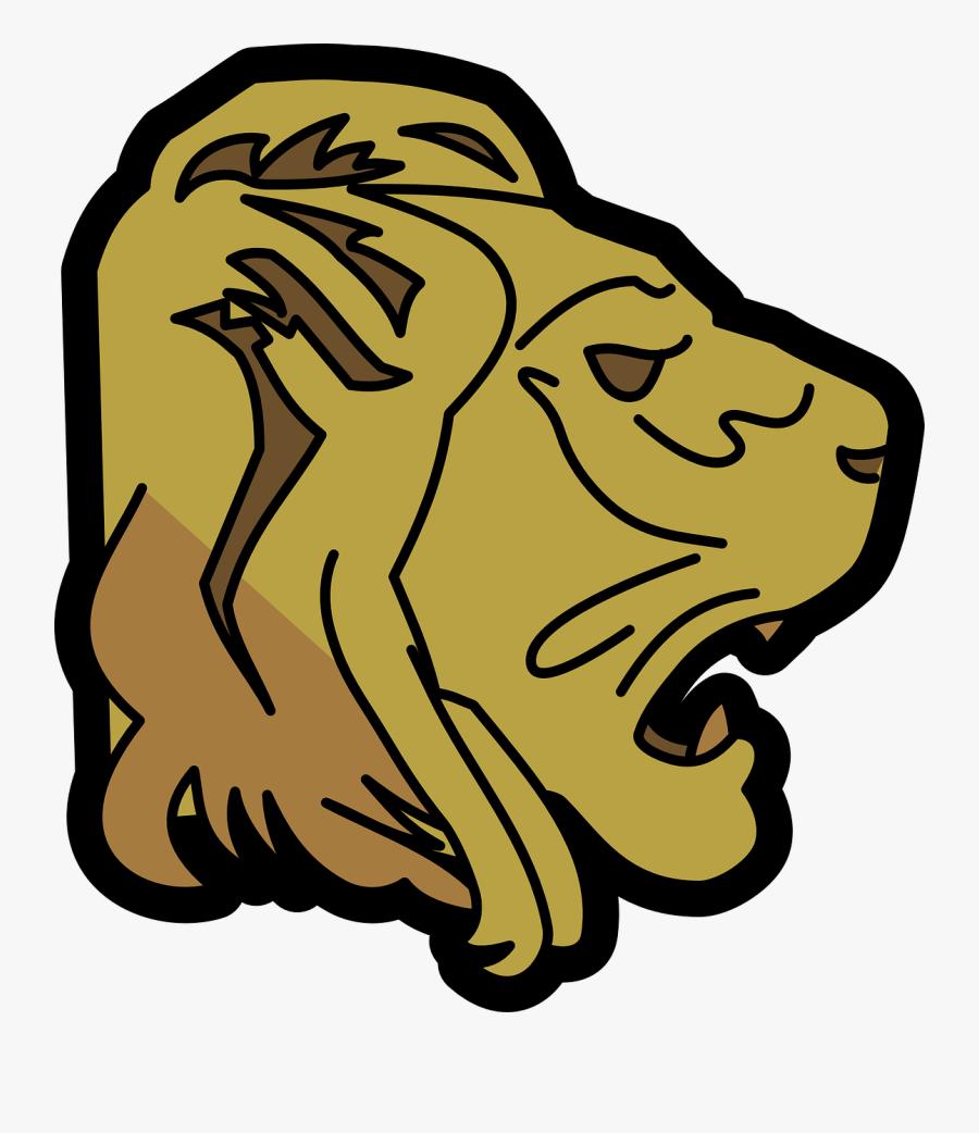 Cartoon Lion Clipart 10, - Free Lion Transparent Png Animated, Transparent Clipart