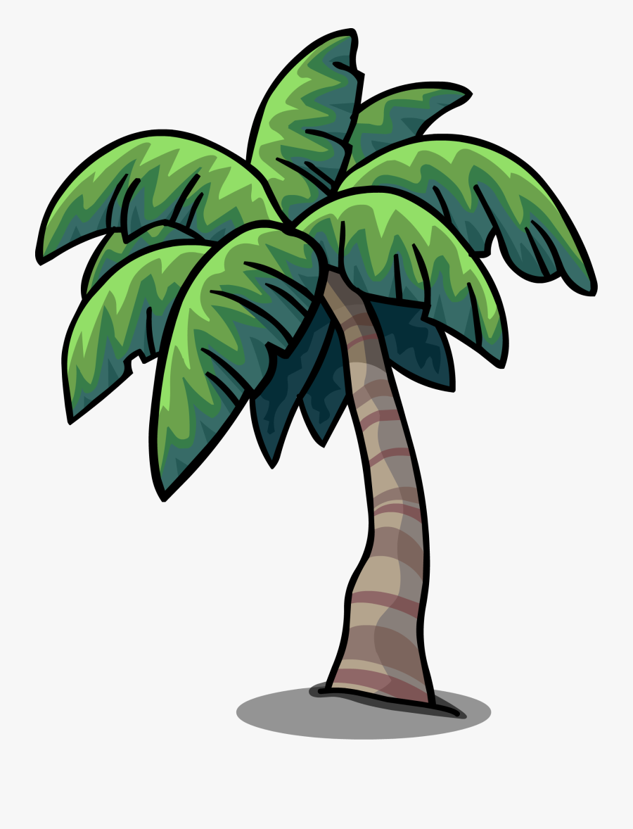 Palm Tree Cartoon Png, Transparent Clipart