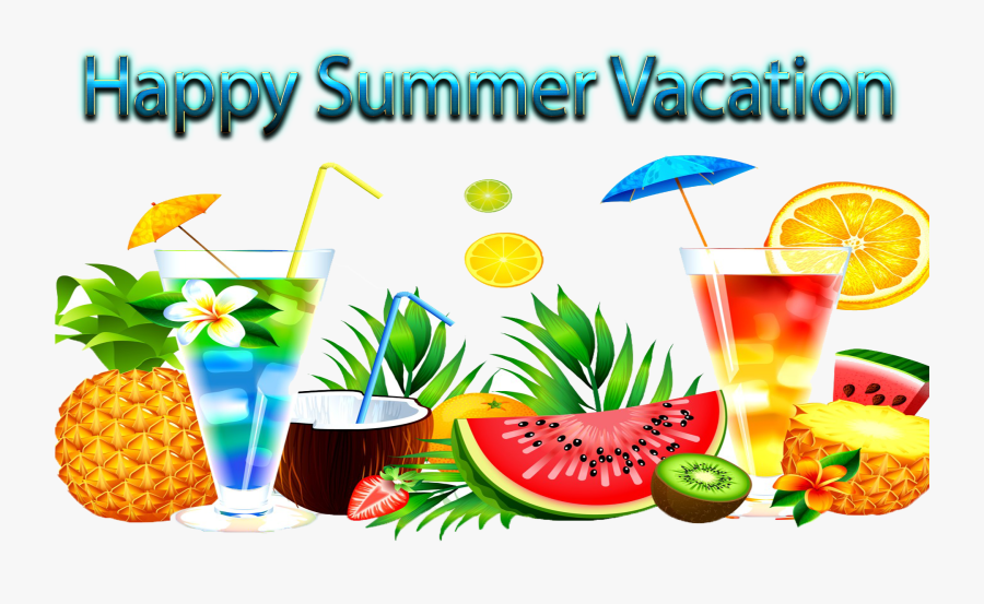 Happy Summer Vacation Png Clipart - Happy Summer Vacation Clipart, Transparent Clipart