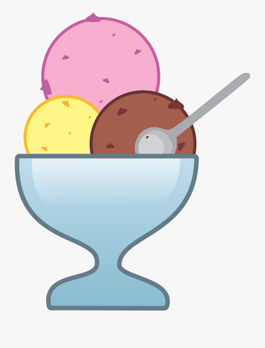Ice Cream Sundae Clipart At Getdrawings - Ice Cream Cup Clipart, Transparent Clipart