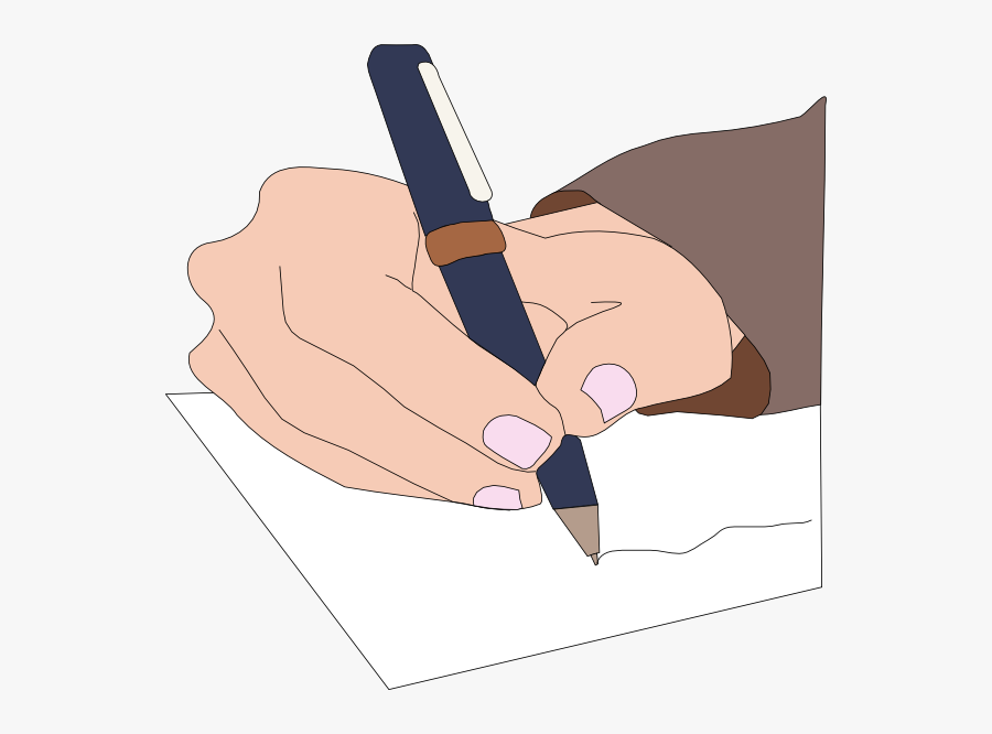 Writing On Paper Clip Art At Clker - Writing On Paper Animation, Transparent Clipart