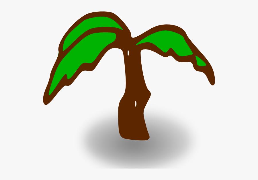 Free Vector Rpg Map Symbols Palm Tree Clip Art - Palm Tree Clip Art, Transparent Clipart