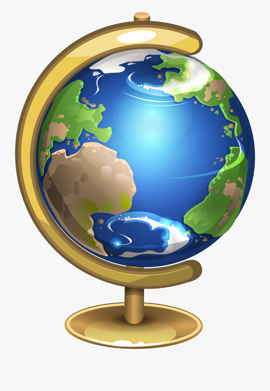 Earth Png Globe Clipart - Globe Png, Transparent Clipart