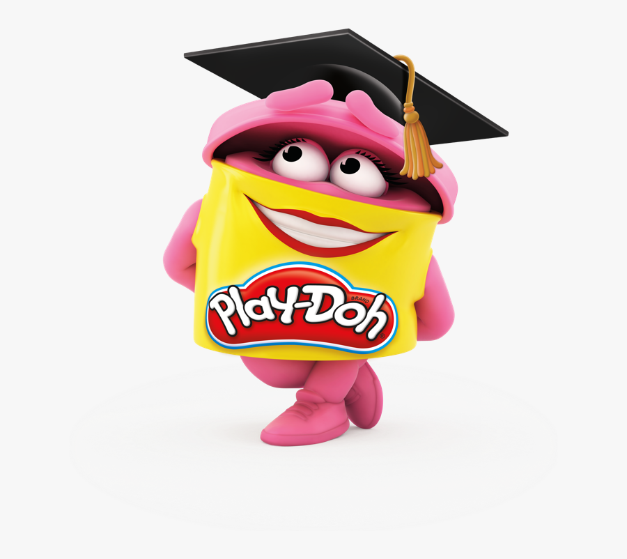 Play Doh Characters Pink, Transparent Clipart
