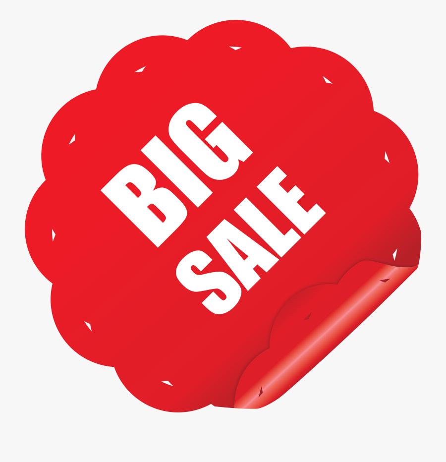 Transparent For Sale Clipart - Big Sale Sticker Png, Transparent Clipart