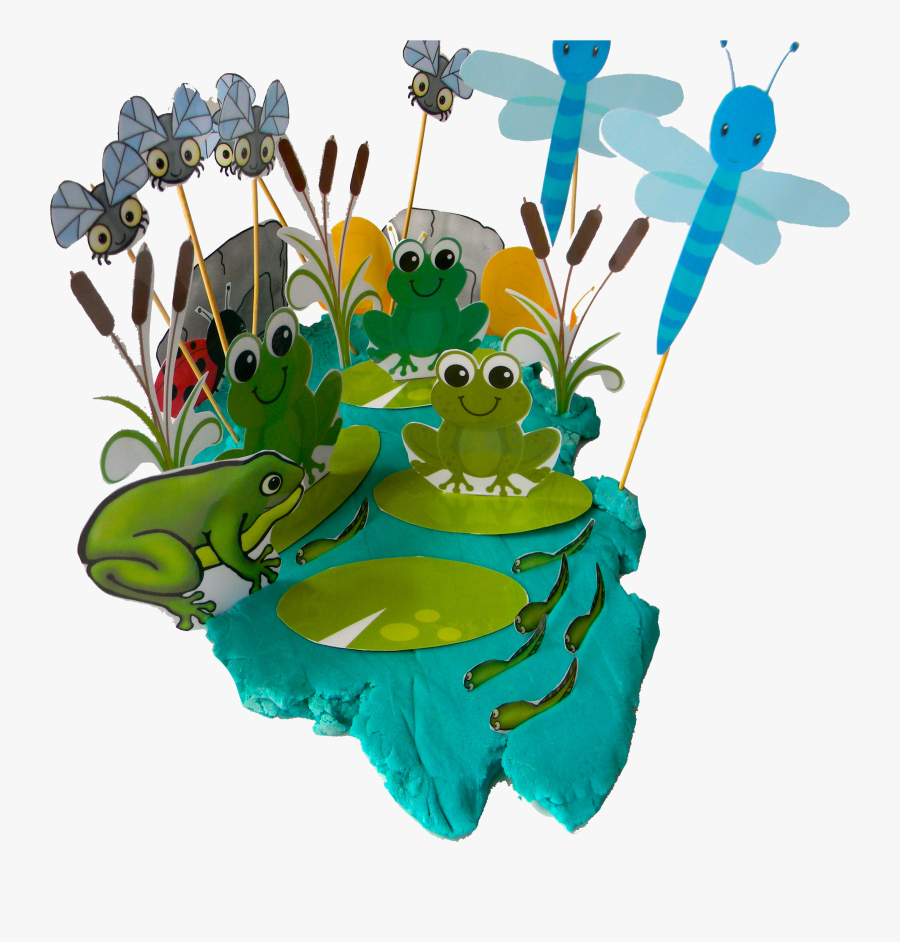 Frog Pond For Play Dough - Play-doh, Transparent Clipart