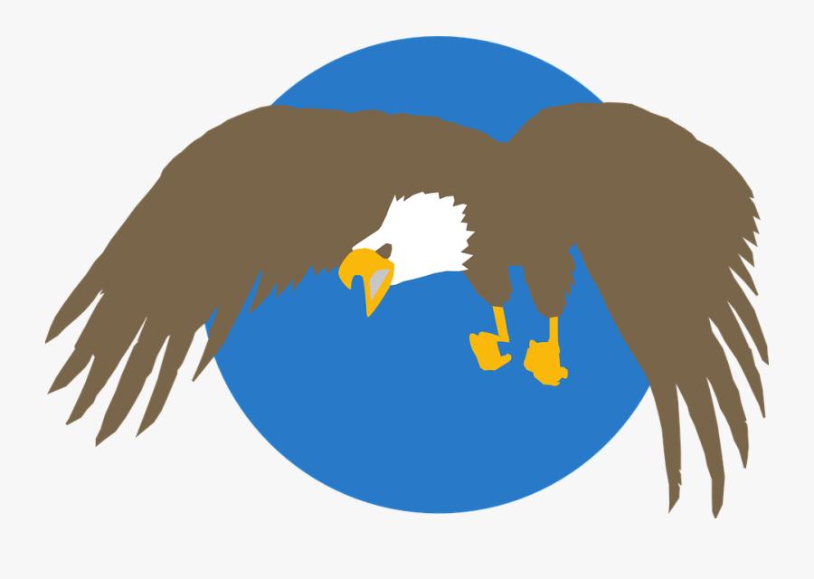 Transparent Bald Eagle Clipart - Eagle Png Circle, Transparent Clipart