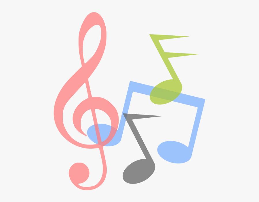 Clip Art Music Notes Design - Music Notes Silhouette Png, Transparent Clipart