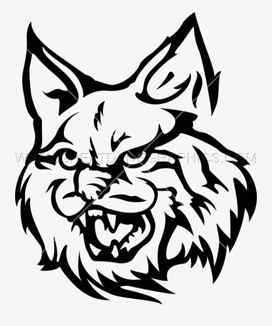 Wildcat Clipart Transparent - Wildcat Mascot Transparent Background, Transparent Clipart