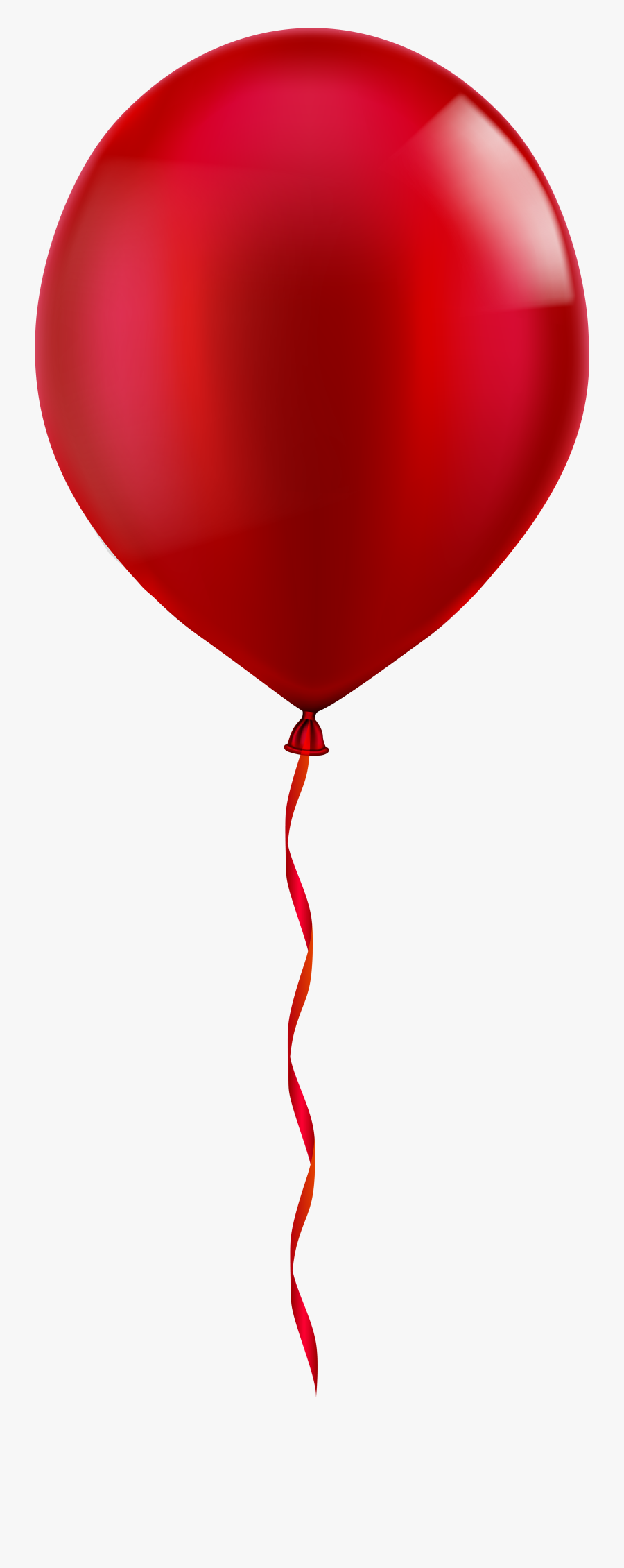 Clipart Black And White Download Red Balloon Png Clip - Transparent Red Balloon Png, Transparent Clipart