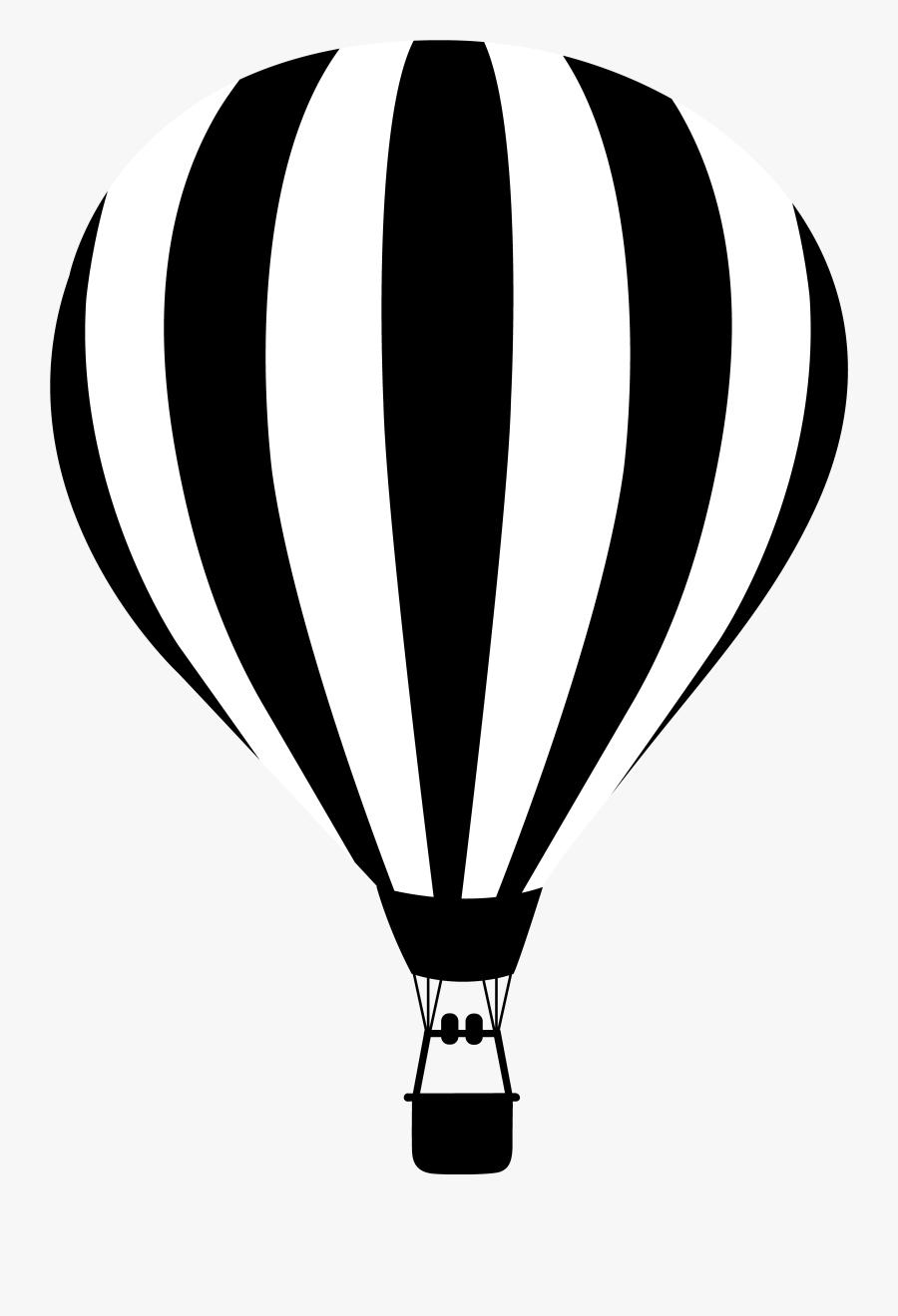 Hot Air Balloon Vector Png, Transparent Clipart