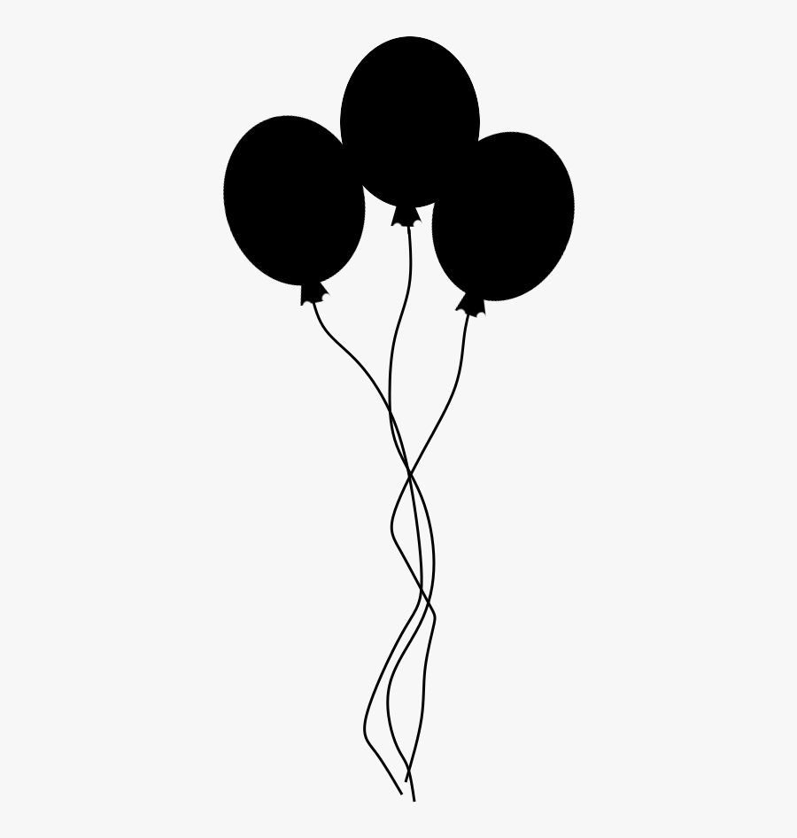 Globos Tumblr Png Clipart , Png Download - Globos Blanco Y Negro Png, Transparent Clipart