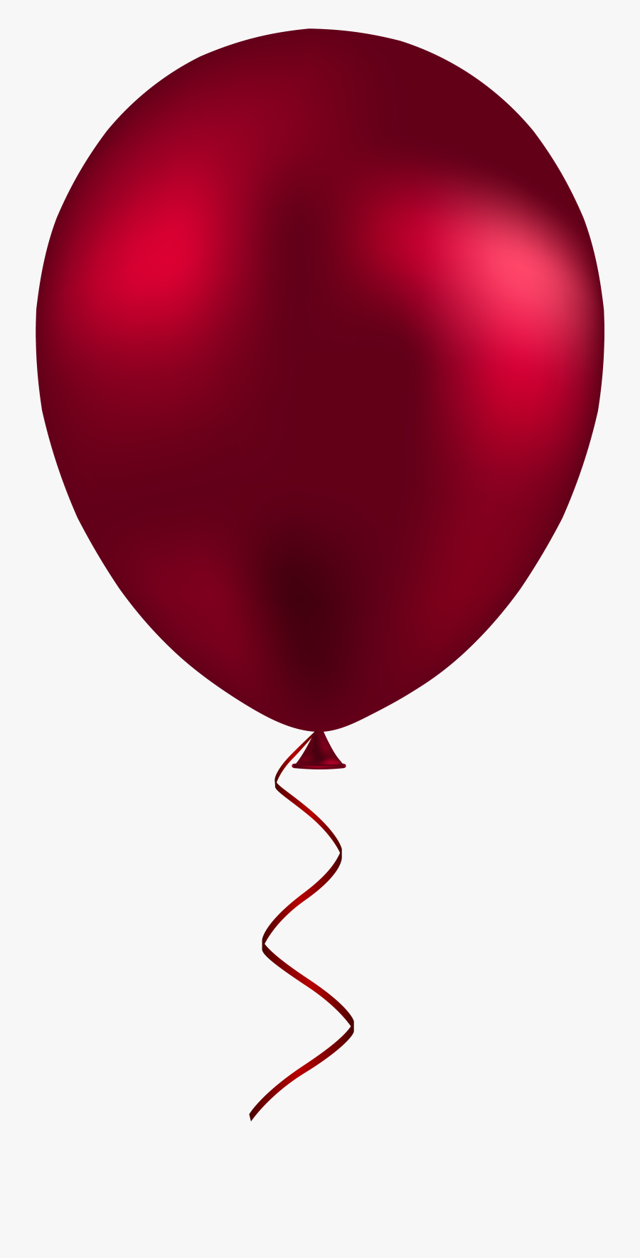 Red Balloon Png Clip Art - Balloon Png, Transparent Clipart